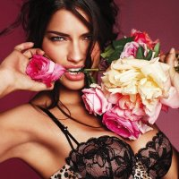 Adriana Lima Gorgeous for Victoria's Secret Lingerie Photoshoot