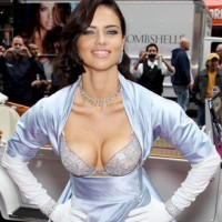 Adriana Lima at launch of Victoria&#8217;s Secret Bombshell Fantasy Bra