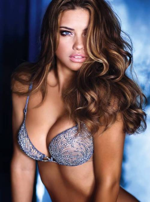 Adriana Lima in Bombshell Fantasy Bra 