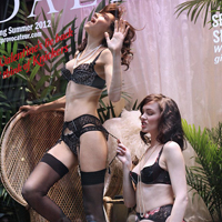 Agent Provocateurs Models in Shop Windows