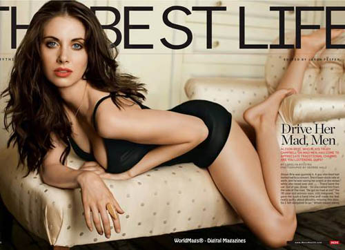 Alison Brie for Men's Health (October 2010)
