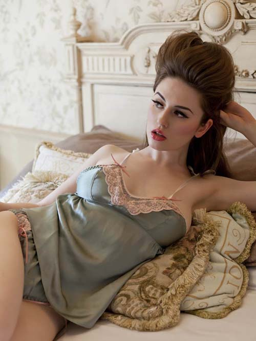 Ayten Gasson Spring/Summer 2011 Vintage Silk Lingerie Collection