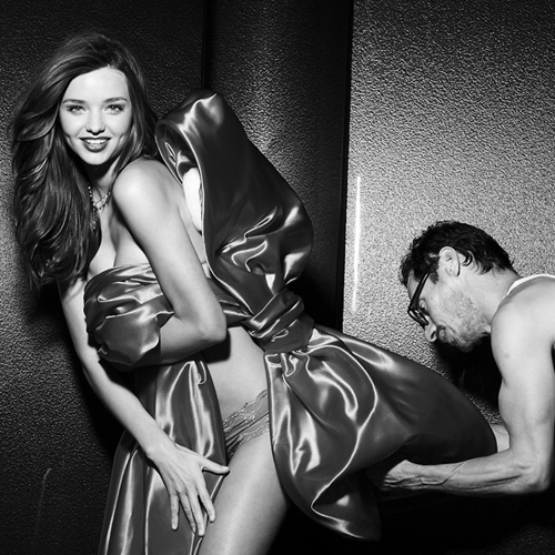 Behind The Scenes Shots from Victorias Secret Holiday Campaign 