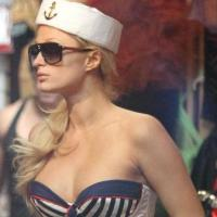 Daring wear: Paris Hilton at Trashy Lingerie, Los Angeles