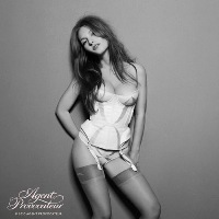 Josephine de la Baume for Agent Provocateur Spring/Summer 2011 Ad Campaign