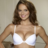 Kara Tointon models Michelle For George by Ultimo&#8217;s Michelle Mone