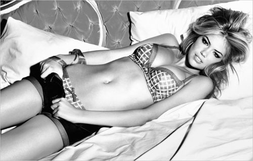 Kate Upton in Sexy Guess Lingerie 2011 Campaign