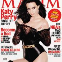 Katy Perry covers Maxim January 2011