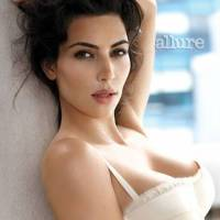 Kim Kardashian &#8211; Allure cover in Jenna Leigh Elle Balconette Bra