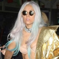 Lady Gaga loves silk lingerie