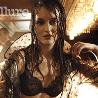 Leighton Meester covers Allure, poses in hot lingerie