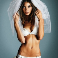 Lily Aldridge is Bridal-Sexy for Victoria&#8217;s Secret
