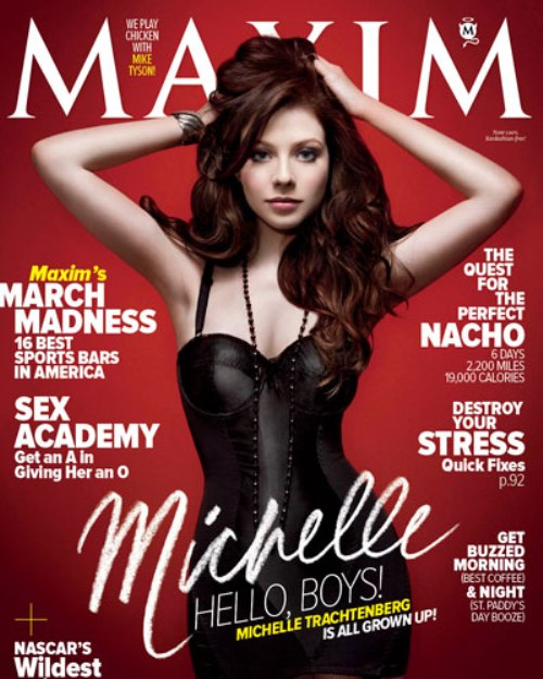 Michelle Trachtenberg - Maxim's March 2011 Cover Girl