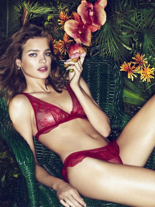 Natalia Vodianova for Etam Spring/Summer 2011 Lingerie Collection
