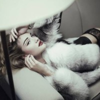 Rosie Huntington-Whiteley in &#8220;Ten Times Rosie&#8221; Book