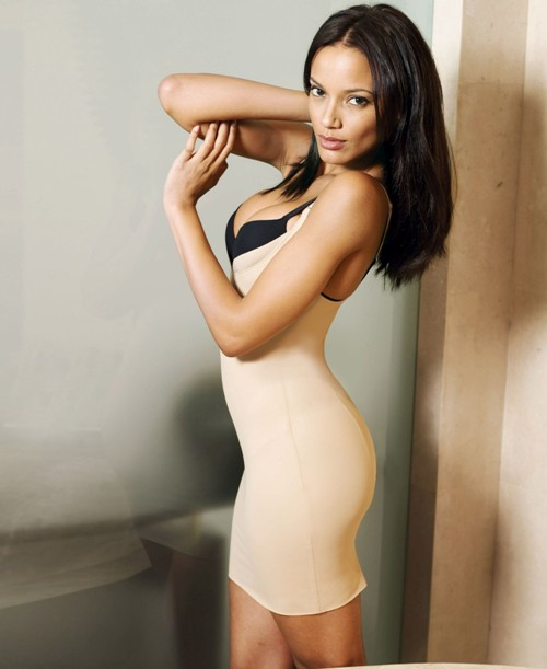 Selita Ebanks in Macy's Lingerie Photoshoot