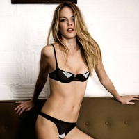 Shannan Click for Yasmine Eslami Lingerie