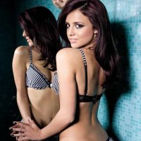 The Only Way Is Essex&#8217;s Lucy Mecklenburgh in Christmas Lingerie Photoshoot