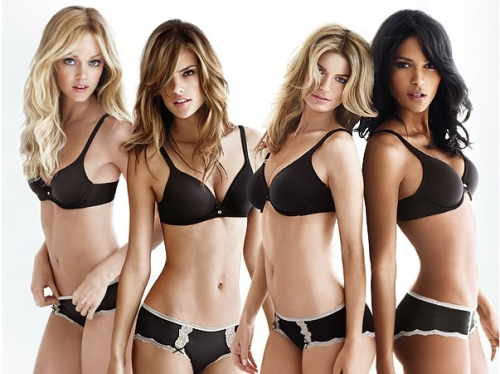 Tips on how to look like a lingerie model
