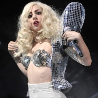 Underwear as Outerwear Lady Gaga-style