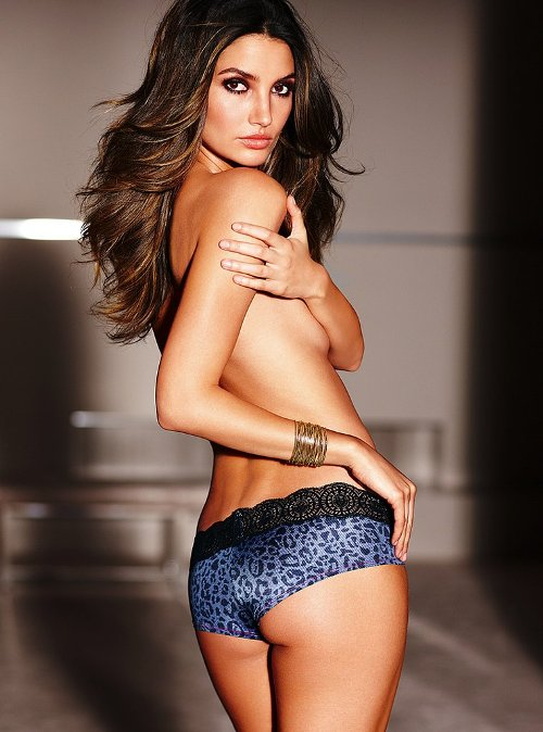 Victoria's Secret Heat: Lily Aldridge Lingerie Photo Shoot