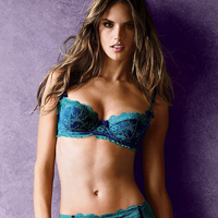 Alessandra Ambrosio  Victorias Secret Fall 2010 Collection Photoshoot