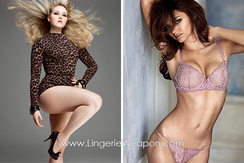 How to get body of lingerie model 