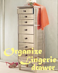 How To Keep Lingerie Drawer Organized