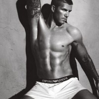 David Beckham&#8217;s new ads for Emporio Armani