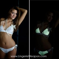 First glowing in the dark lingerie range