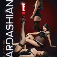 Kardashian sisters go lingerie sexy for promo poster