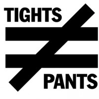Tights are not pants, yall!