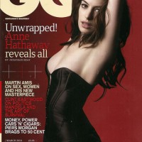 Anne Hathaway covers GQ March 2010