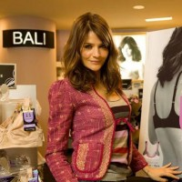 Helena Christensen is spokeswoman for Comfort-U bra