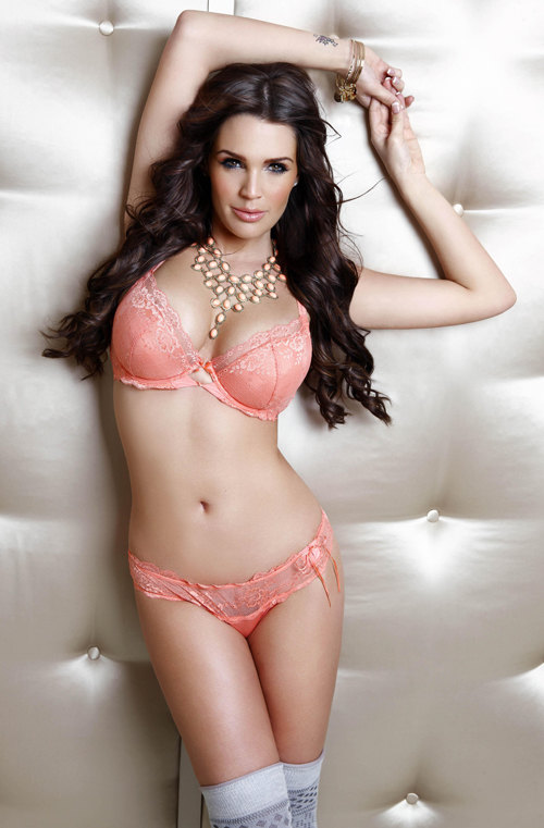 Danielle Lloyd Freemans Lingerie Spring Summer 2010 collection