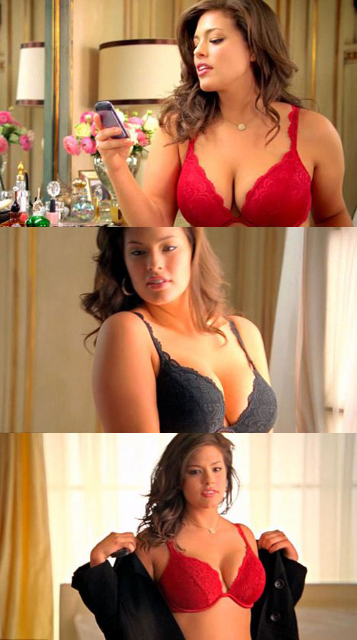 Lane Bryant&#039;s plus-size bra ad starring Ashley Graham is banned on ABC as too raunchy and sexy
