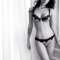 Megan Fox for Fall/Winter 2010-2011 Emporio Armani Underwear