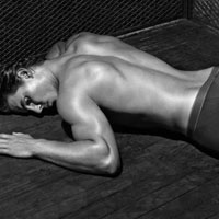 Rafael Nadal Does New Emporio Armani Campaign