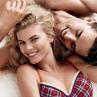 Maryna Linchuk Models Nordstrom Lingerie Collection