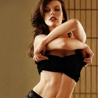 Milla Yovovich Strips Off For Maxim