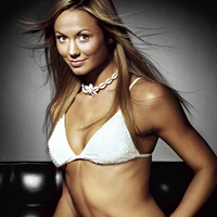 Rare Photos: George Clooneys Girlfriend Stacy Keibler In Lingerie