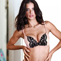 Adriana Lima Sizzles In Victoria's Secret Spring/Summer 2012 Lingerie Collection