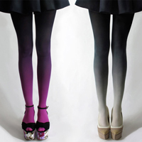 Ombre Tights: Latest Legwear Trend