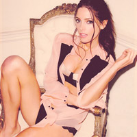 Ashley Greene in Sexy Lingerie Shoot for Esquire August 2012
