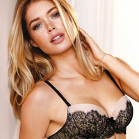 Doutzen Kroes For Victorias Secret Summer 2012 Lingerie Photoshoot