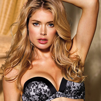 Doutzen Kroes Showcases Victorias Secret Fall 2012 Lingerie Collection