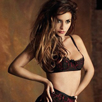 Agent Provocateur + Monica Cruz= Perfect Formula To Seductive Look