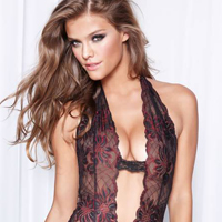 Nina Agdal Models Fredericks Of Hollywood Fall 2012 Lingerie Collection