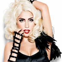 Lady Gaga in Underwear Shots
