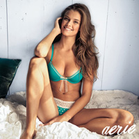 Smoking Hot Nina Agdal Models Aerie Holiday Fall Winter 2012 Collection